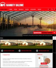 Nowa strona firmy PS NAMIOTY HALOWE!