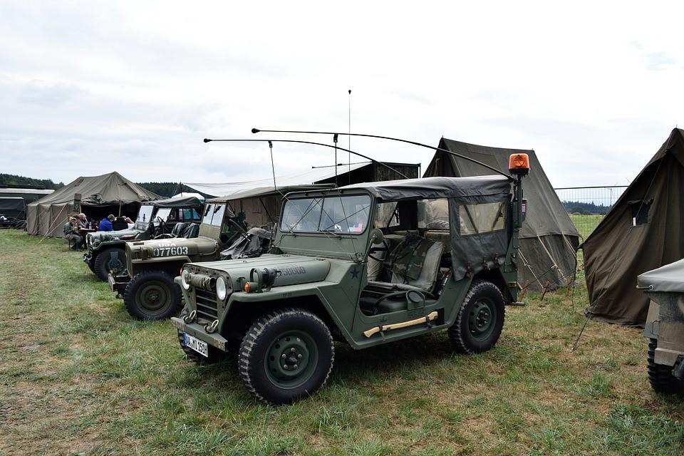 Namioty polowe i hangary wojskowe - wynajem